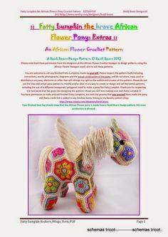Heidi Bears - Flower Pony Extras Fatty Lumpkin Rockers Wings Horn (c) - gurumi var - Picasa Web Albums