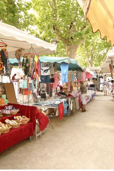 Place de Lices market in St. Tropez...fond memories of my days off here :)
