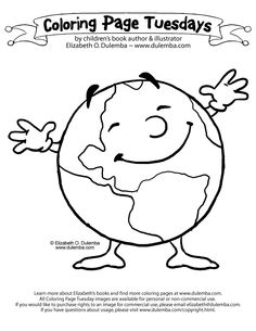 Earth Science Coloring Pages 8