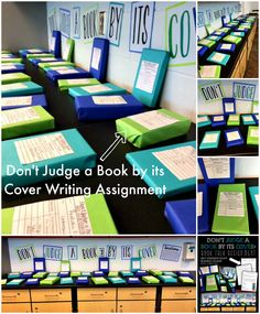 """""""Don't Judge a Book by its Cover"""" informative essay and presentation assignment! Help students enjoy reading by wrapping the books, putting basic descriptions on the outside, and letting them pick based on their interests! Supplemental printables found in my TpT store! $"""