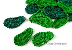 Simple and beautiful leaves which are very often used in Irish Lace crochet and in freeform. They could be bended to the right or to the left. I've used these crochetleaves in my…