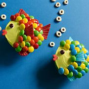 "Rainbow Trout Cupcake  Submitted by Karen Tack and Alan Richardson   Authors of ""Hello, Cupcake!"""