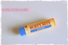 Burt's Bees Blueberry & Dark Chocolate Lip Balm - Review by Beauty Best Friend