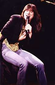Steve Perry...This guy gives you goosebumps without even trying. Remnants of Sam Cook, but Rockin' hard as a feather made of steele. Good-God this guy can blow!