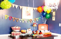 my daughter's up birthday party