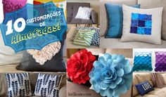 Lari Koze: DIY - 10 almofadas para se inspirar! #decoração #almofada #diy #ideias