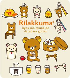 Rilakkuma everything!!