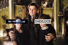 Count Moffat.  As a fan of Sherlock, Doctor Who, AND a Series of Unfortunate Events, I approve wholeheartedly of this message.