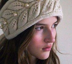Bayanlar için örgü saç bandı - Derya Baykal - Örgü Dantel Modelleri Örnekleri