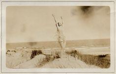 Woman Dances on A Beach, c. 1920s