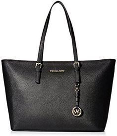 Michael Kors Womens Jet Set Item Medium Snap Pocket Tote - Ty Couture