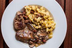 Filets, Bacon, Stuffed Mushrooms, Goodies, Food And Drink, Beef, Mushroom Recipes, Chef Recipes, Meat