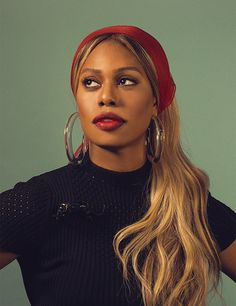 Laverne Cox photographed by Janell Shirtcliff for Ladygunn