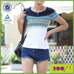 Summer cotton short sleeve joker Tee lady simple printed no problem t-shirt, View no problem t-shirt, Roozt Product Details from Guangzhou Roozt Clothes Co., Ltd. on Alibaba.com