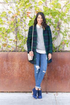 Bloggers We Love: @lowstoluxe styles Sole Society's Tallie booties for @theeverygirl