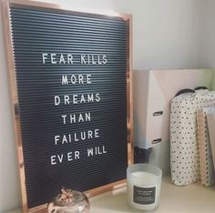 Loving my new letter board in my office. I am going to use it for monthly quotes of inspiration and motivation. Absolutely love this quote. Truth Quotes, Quotable Quotes, Me Quotes, Motivational Quotes, Inspirational Quotes, Funny Quotes, Quotes On Fear, So True Quotes, Word Board