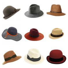 Chapéus: o retrô moderno.