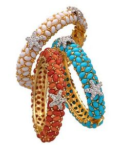 Kenneth Jay Lane Crystal Starfish Bracelets review at Kaboodle
