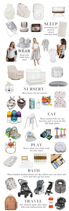 Now that I am a mother of three I can honestly say that I have a good grasp on what moms REALLY need for Baby Registry Must Haves.
