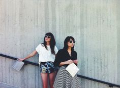 Weekend Lovers Photo by Lani Trock Kristine Claghorn (claggie) + Melanie Ayer (skinnybmel)