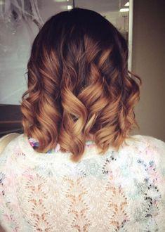 Voici L'ombré Hair Marron Caramel Que Vous devez Porter cette Saison! | Coiffure simple et facile