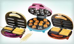 Groupon - $19 for Nostalgia Electrics Cake-Pop, Churro, or Snack-on-a-Stick Maker ($29.99 List Price). Free Shipping and Returns. in Online Deal. Groupon deal price: $19.00