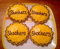 Wichita State University sugar cookies.