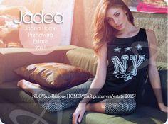Pigiami donna Jadea. La nuovissima Collezione Primavera/estate 2015.  http://www.abbigliamentointimoatena.com/163-pigiami-estivi #pigiami #jadea #moda