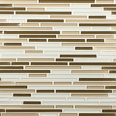 Artistic Tile | Opera Glass Collection; Interlude Gloss Harmonic Lines Mosaic