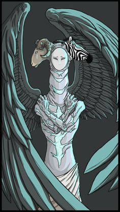 castiel's true form - Cerca con Google<< That's awesome but also going to be in my nightmares