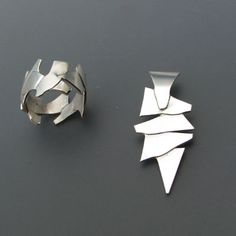 Different Types Of Earrings To Wear – Brook Jewellers Types Of Earrings, Metal Clay Jewelry, White Gold Jewelry, Gold Jewellery, Silver Engagement Rings, Ring Engagement, Geometric Jewelry, Charm Jewelry, Silver Earrings