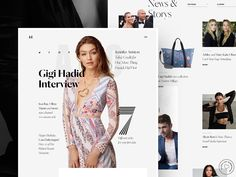 A-O Fashion Magazine Behance // Day 17 by Oliver Gareis