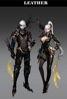 ArtStation - Aion 5.3 abyss gear, Soyeon LEE