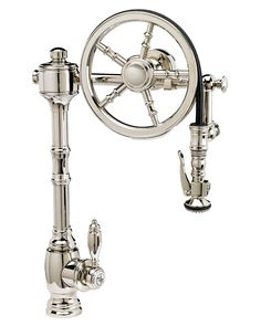 The Wheel Pull Down Kitchen Faucet
