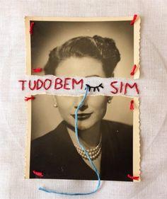 Artista brasileiro transforma fotografias antigas em bordados que contam histórias afetivas. A arte de Pedro Luis