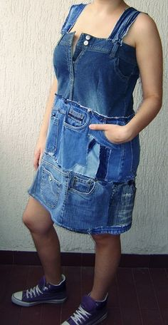 okay, now I really do want to make this cute recycled jeans jumper.