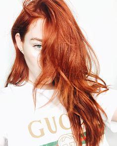 Red hair color inspo by Cassondra Kaeding