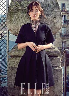 Korean Actress Song Hye Kyo Dior Pre-Fall Elle Magazine June 2015 Photoshoot Fashion