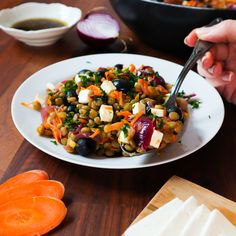 Kung Pao Chicken, Salads, Ethnic Recipes, Salad, Chopped Salads