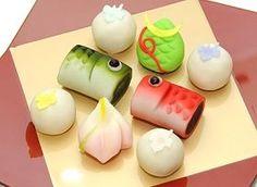 (1) wagashi for Children's Day | Salivating | Pinterest