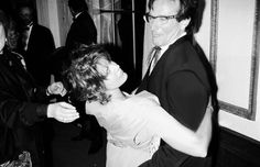 """ Pam Dawber and Robin Williams attending tribute to Robin benefiting American Museum of Moving Image (1994) """