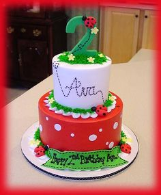 pictures of ladybug cakes - Google Search