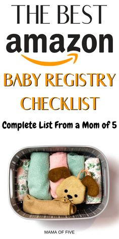Everything you need to know about amazon baby registry. What is amazon baby registry and how does it work? Learn about the amazon diaper fund and the amazon welcome box #amazon