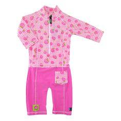 Accesorii bebelusi :: Trusoul bebelusului :: Articole de plaja :: Costum de baie Baby Rose marime 86- 92 protectie UV Swimpy