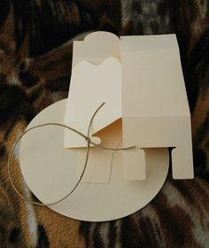 Sombrero de vaquero de regalo o caja del por PeadenScottDesigns