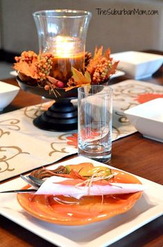 Create A Seasonal Table With Better Homes And Gardens Dinnerwear