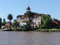 """Delta del Tigre, Buenos Aires, where in the 1930s-40s, Sam used to visit the British Rowing Club: """"...a vast detached mansion of several floors, the upper half in mock Tudor style surmounted by a cupola, sitting grandly amid extensive grounds. My goodness, I think, is this it? But no, it's another establishment altogether, with its own landing stage for boats to cross over: Club de Regatas la Marina."""" (Chapter 7, TOMORROW IS ANOTHER DAY, page 109)"""
