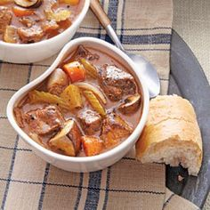 Beef and Mushroom Stew | CookingLight.com