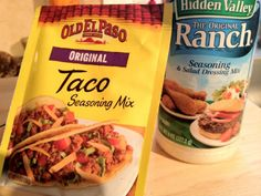 Make your own low sodium Taco, ranch or onion soup mix seasonings! Minus the salt and these could work