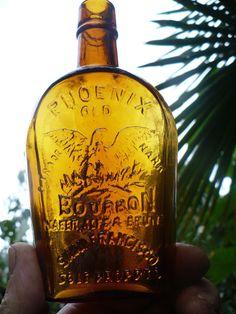 Old Phoenix Bourbon - amber bottle - San Francisco